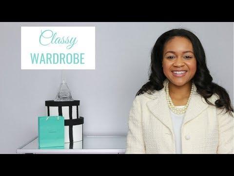 How To Create A Classy & Elegant Wardrobe
