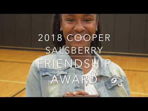 Van Hoosen Middle School 2018 Friendship Award - Amaya Agboka