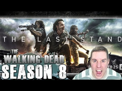 The Walking Dead Season 8 Second Half Synopsis & New The Last Stand promo art!