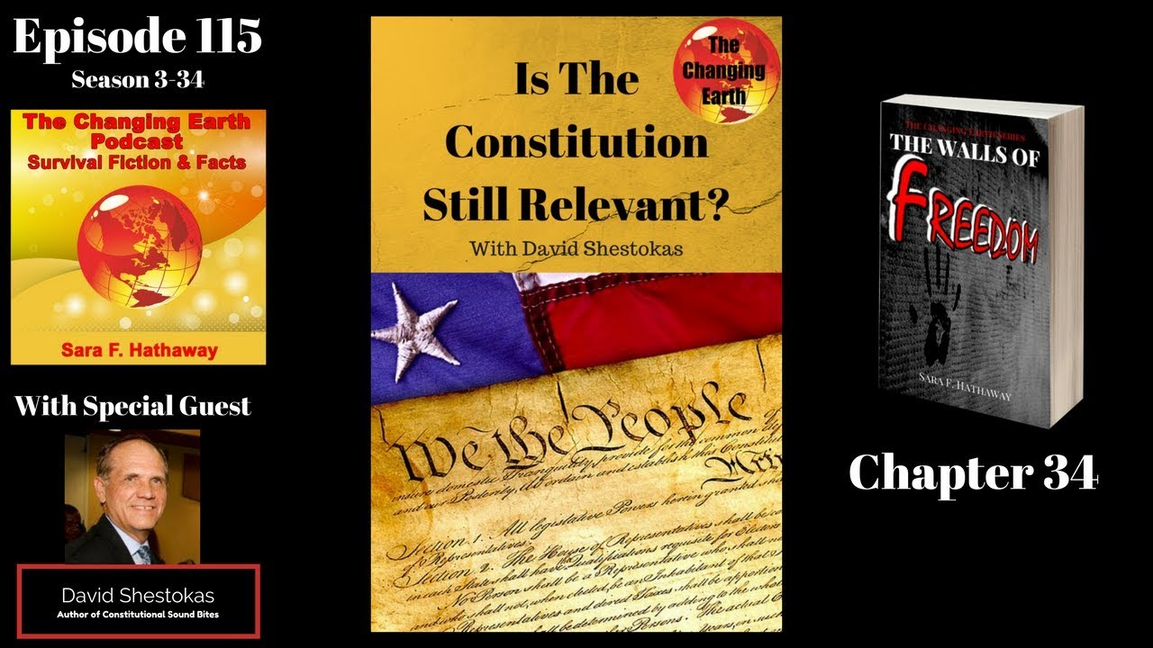 constitution still relevant The constitution is still very relevant as it is providing a barrier to gun control nonetheless, as with the point above, if there was sufficient will then the second amendment could be overturned as was prohibition with the 21st amendment.