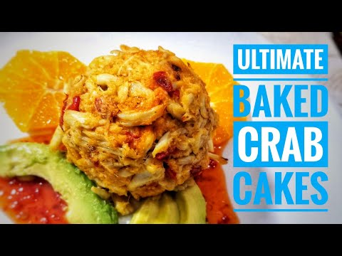 BAKED Crab Cake recipe How to make the ULTIMATE CRAB CAKES