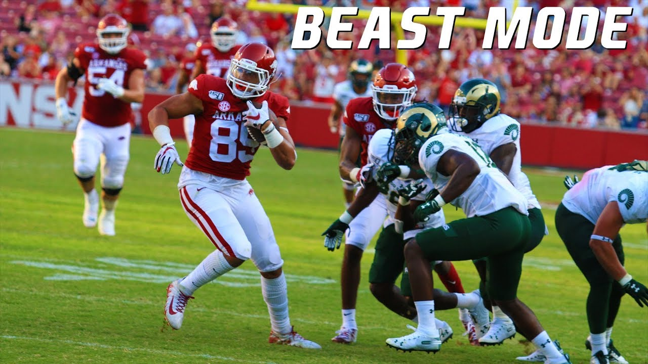 "College Football Best ""Beast Mode"" Moments 2019-20 ᴴᴰ"
