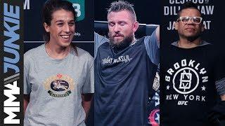 MMA Junkie Radio #2919: Joanna Jedrzejczyk, Lance Palmer, Eric Albarracin and Dave Manley