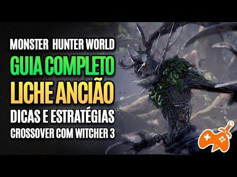 Monster Hunter World | Liche Ancião - DICAS e estratégias pra FACILITAR o Combate [Guia Completo] thumbnail