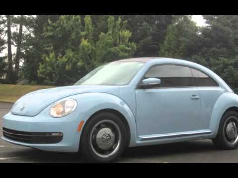 2013 Volkswagen Beetle-Classic 2.5L PZEV for sale in HILLSBORO, OR