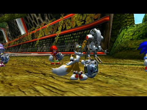 Sonic Riders Zero Gravity: World Grand Prix - Heroes Cup W/ Tails