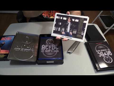 ACDCs Let There Be Rock BluRay+DVD Limited Edition Unboxing