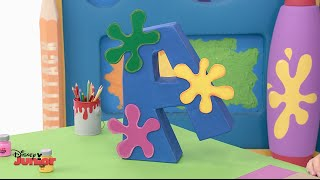 Art Attack - Giant 3D Letter - Official Disney Junior UK HD