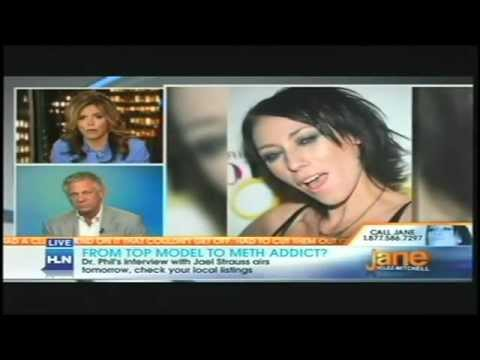 Former Top Model Jael Strauss after years of crystal meth abuse on CNN with Dr. Howard C.Samuels
