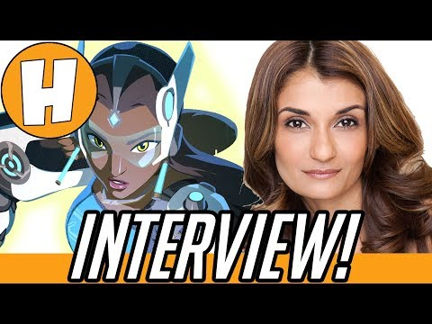 Overwatch Voice Actors - Anjali Bhimani (Symmetra) Interview! | Hammeh
