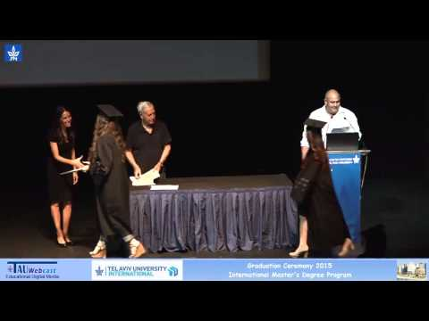 End of the Year ceremony 2015, International Master's Degree Programs