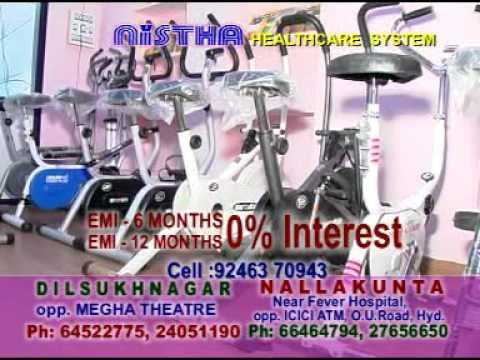Fitness Equipments Showroom Hyderabad