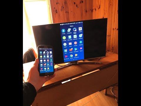 Выводим изображения смартфона на телевизор просто!