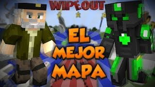 EL MEJOR MAPA - Carrera de WipeOut - Willyrex Y sTaXx - MINECRAFT