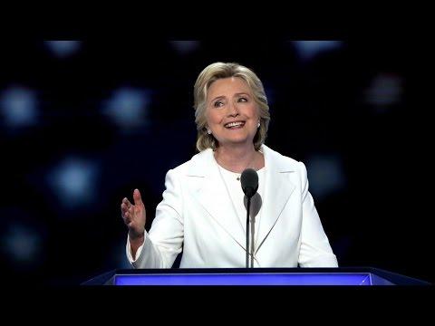 REPLAY - Revoir le discours d'Hillary Clinton à la Convention Démocrate