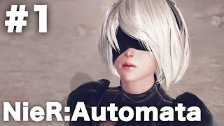 『NieR:Automata(ニーアオートマタ)』をゆっくりプレイしていきます。...