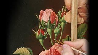 Живопись роз. Часть 3.