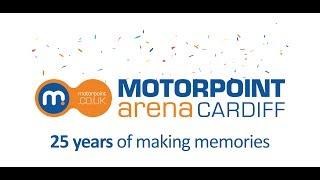 Motorpoint Arena Cardiff 25th Birthday Commemorative Video