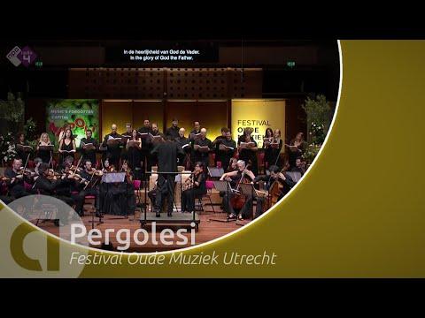 Pergolesi: Mass in D major - Coro e Orchestra Ghislieri - Utrecht Early Music Festival - Live HD