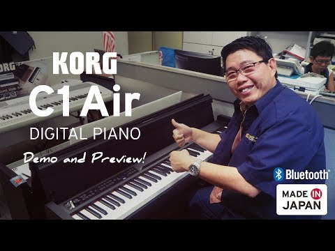 KORG C1 Air Demo and Preview with Francis!