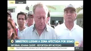 MINDEF VISITA DAMINIFICADOS BELLA UNION  RPP NOTICIAS