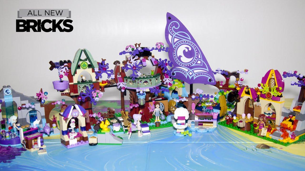 Splinternye Lego Elves 41075 Treetop Hideaway with Bakery - Ship - Spa SH-59