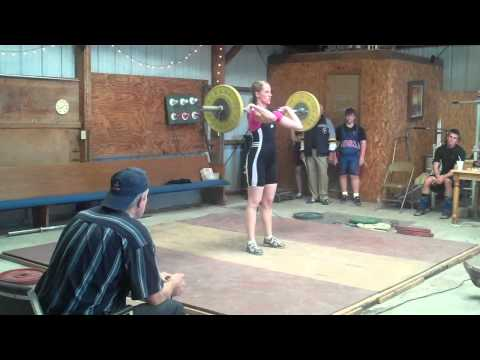 Tiffany Hillert Clean and Jerk 50 Kg Lock and Load...