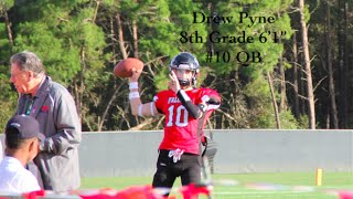 drew pyne 6 1   class of 2020 qb highlights