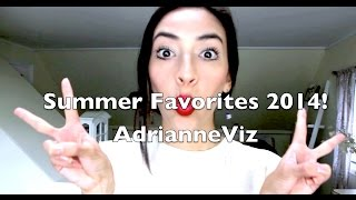 Summer Favorites 2014 ! | AdrianneViz Thumbnail