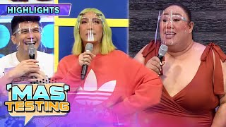 Vice Ganda finds out that Petite cooks for Vhong   It's Showtime Mas Testing