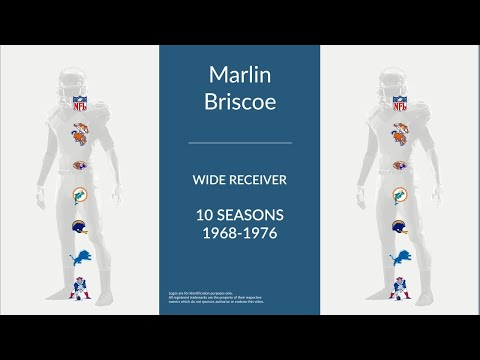 Marlin Briscoe: Football Wide Receiver