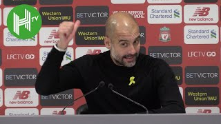 Pep Guardiola: Liverpool are best team in the world when the game is open - we had to slow it down!