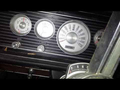 Seeing If The Starter Works On The 1966 Mercury Park Lane