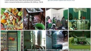 Mengubah Limbah Jadi Etanol, Biogas dan Pupuk Dalam Biodigester BE 1000 L