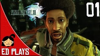 Soldier girl and Chocofro | Final Fantasy XIII (PC) #1 | Ed plays | 1080p 60fps gameplay |