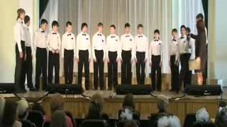 2012 04 12 Хоровой фестиваль Ансамбль Пацаны школа интернат 8 вида