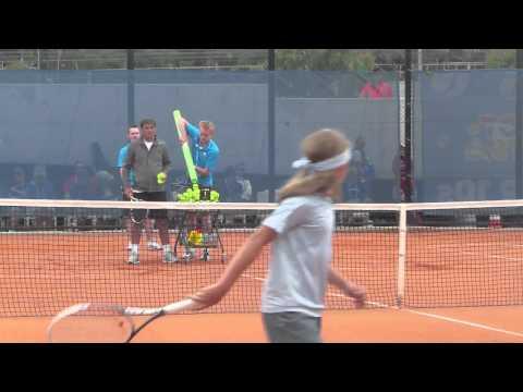 Toni Nadal clay court coaching Part 2