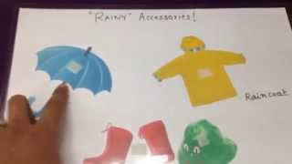 Rainy-season themed activities for toddlers!