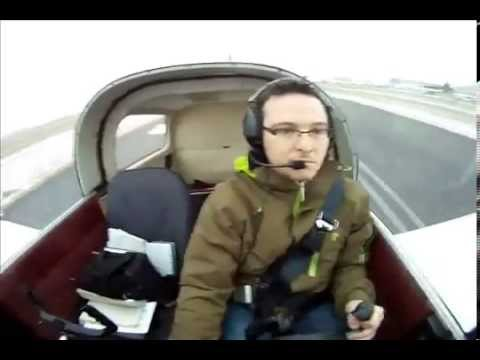 GoPro camera. Grumman AA1-C local flight around Beloeil (Quebec)