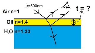 Physics - Interference of Light (6 of 8) The Thin Film: Oil