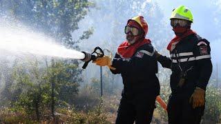 Incendies dans le Sud-Est : la plupart des feux en passe d'être maîtrisés