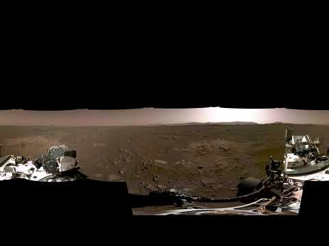 NASA Perseverance Rovers First 360 View of Mars Official