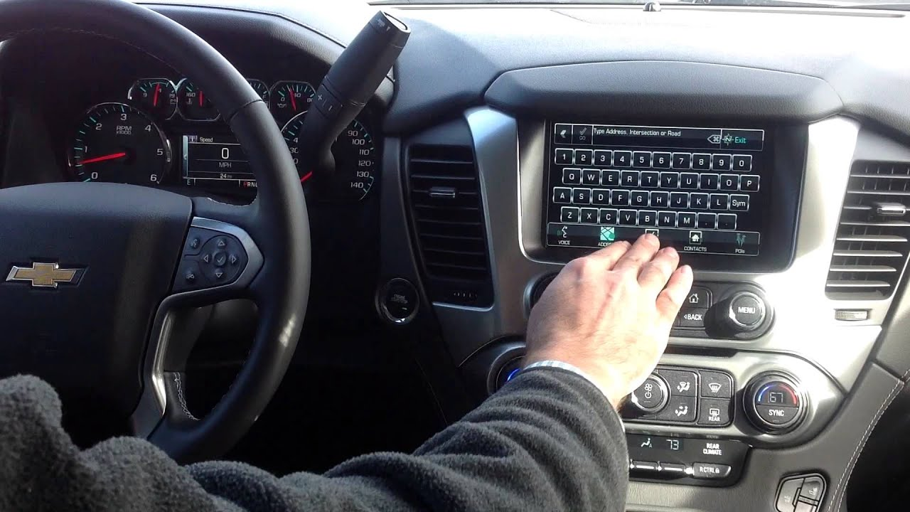 How to Use Contacts for Navigation in Chevy MyLink