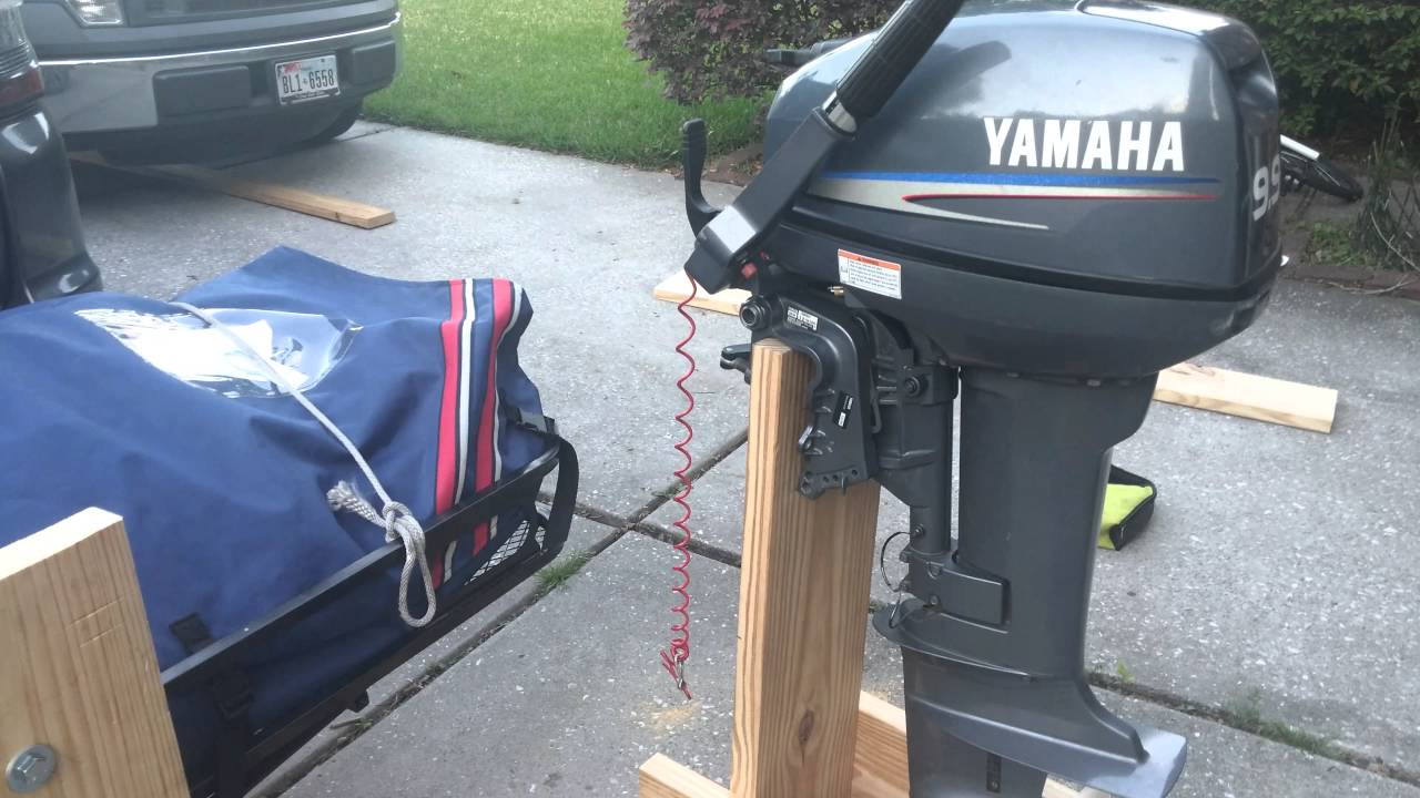 Outboard Motor And Dinghy Hitch Carrier Youtube