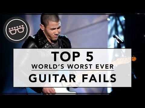 Top Five Guitar Fails