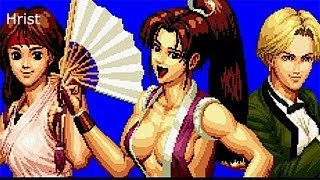 The King of Fighters 94 Ryona Mai,yuri and King