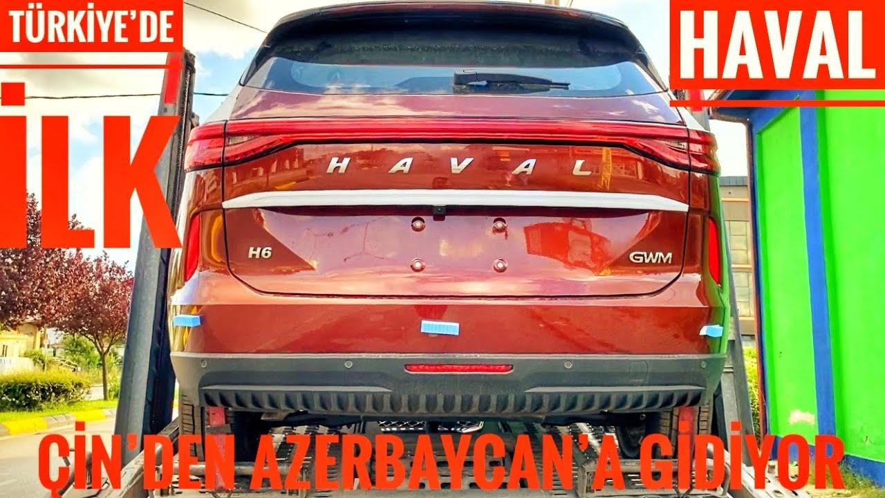 ÇİN'DEN AZERBAYCAN'A GİDEN ARABALARI YAKALADIM | HAVAL JOLİON 2021 | DAHA ÖNCE GÖRMEDİNİZ! |HAVAL H6