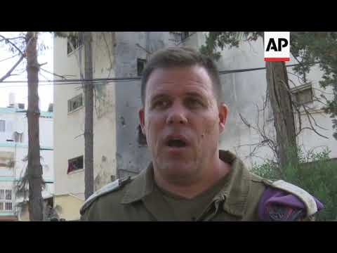 IDF and police officials comment on Israel-Gaza border violence