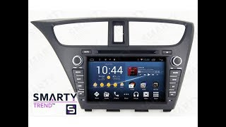 The SMARTY Trend head unit for Honda CIVIC 5D.