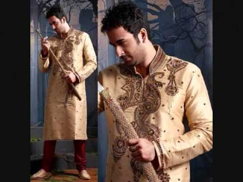 Latest Mehndi Kurtas For Men